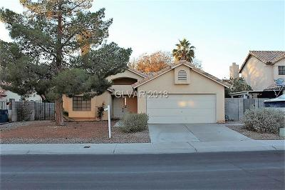 Single Family Home For Sale: 4809 Pinon Drive