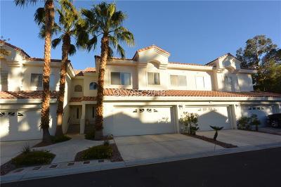 Las Vegas Condo/Townhouse For Sale: 5404 Harmony Green Drive #101
