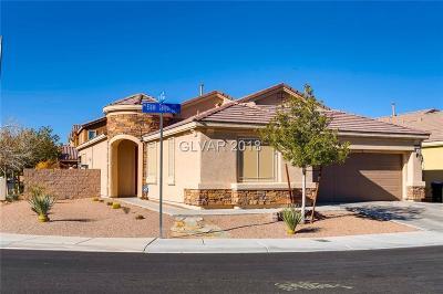 North Las Vegas Single Family Home For Sale: 3693 3693 Blake Canyon Drive Drive