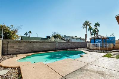Las Vegas NV Single Family Home Under Contract - No Show: $291,000