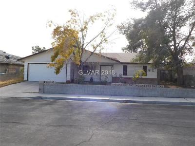 Las Vegas Single Family Home Under Contract - Show: 7621 Genzer Drive