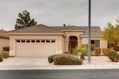 Henderson Single Family Home For Sale: 580 Carmel Mesa Drive