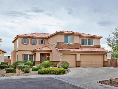 North Las Vegas Single Family Home Under Contract - No Show: 6504 Summer Bluff Court