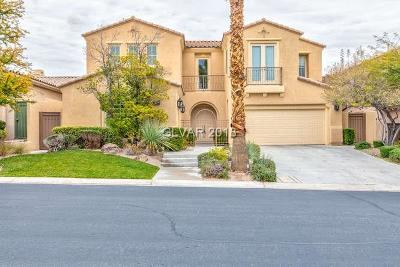 Las Vegas Single Family Home For Sale: 3290 Mission Creek Court