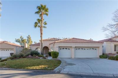 Las Vegas Single Family Home Under Contract - No Show: 7833 Painted Sunset Drive