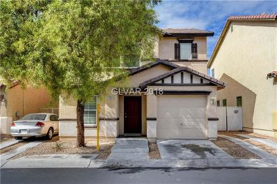 Las Vegas Single Family Home Under Contract - No Show: 1153 Golden Apple Street