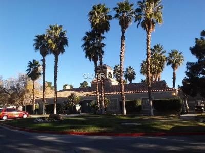 Las Vegas Condo/Townhouse For Sale: 200 Mission Laguna Lane #206