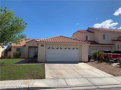 North Las Vegas Single Family Home For Sale: 3107 Myrtle Creek Court