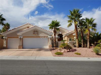 Las Vegas Single Family Home For Sale: 2713 Faiss Drive