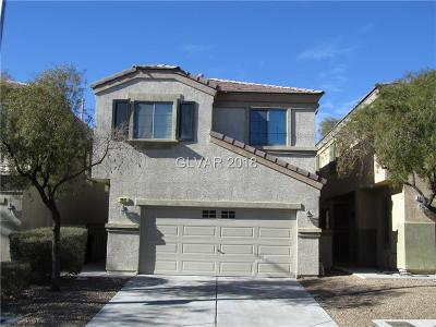 North Las Vegas Single Family Home For Sale: 6441 Butterfly Sky Street