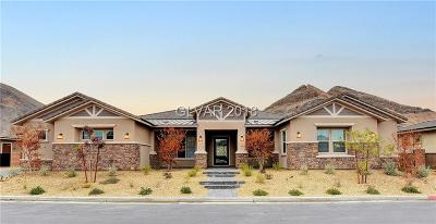 Henderson, Las Vegas, North Las Vegas Single Family Home For Sale: 10980 Luna Blanca Drive
