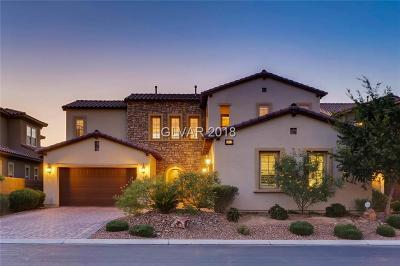 Las Vegas Single Family Home For Sale: 4046 Villa Rafael Drive