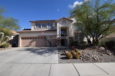 Henderson Single Family Home For Sale: 288 Gingerbread Street