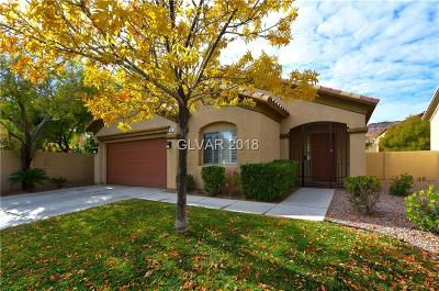 Las Vegas Single Family Home For Sale: 41 South Painted Mountain Drive