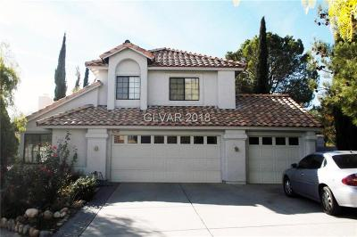 Las Vegas Single Family Home For Sale: 9621 Blowing Sand Circle