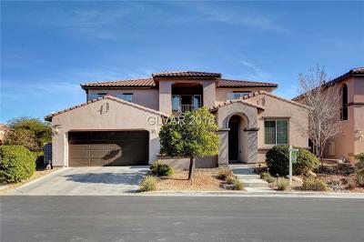 Las Vegas Single Family Home For Sale: 12282 Bluebird Canyon Place