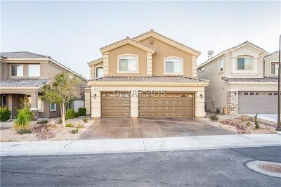 Las Vegas Single Family Home For Sale: 75 Tall Ruff Drive