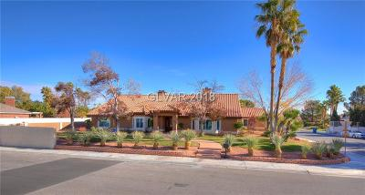 Las Vegas Single Family Home For Sale: 2200 Diamond Bar Drive