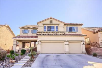 las vegas Single Family Home For Sale: 67 Crescent Palm Court