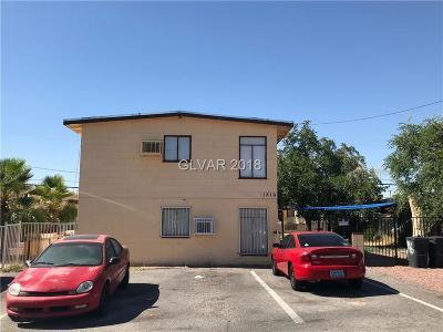 Las Vegas Multi Family Home For Sale: 1816 Lewis