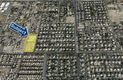 Las Vegas Residential Lots & Land For Sale: ±4.75 Acres On Charleston