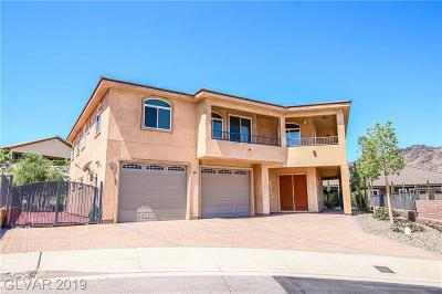 Boulder City Single Family Home For Sale: 371 Cats Eye Drive