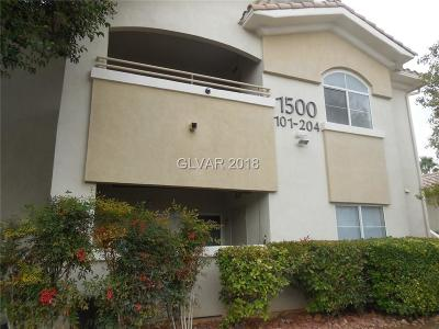 Las Vegas NV Condo/Townhouse For Sale: $217,500