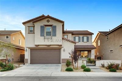 Henderson Single Family Home For Sale: 863 Via Serenelia
