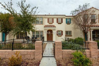 Henderson Condo/Townhouse For Sale: 2064 Waterlily View Street