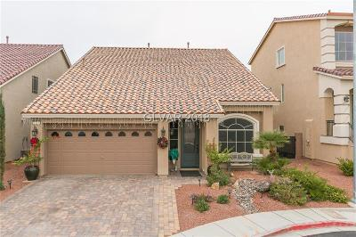 Las Vegas Single Family Home For Sale: 9719 Toad Hollow Street