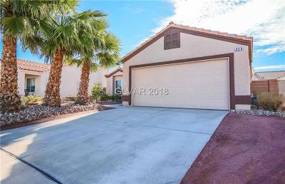 Henderson Single Family Home For Sale: 809 Verde Canyon Drive