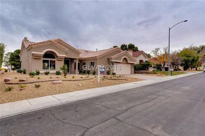Las Vegas Single Family Home For Sale: 2708 Tumble Brook Drive