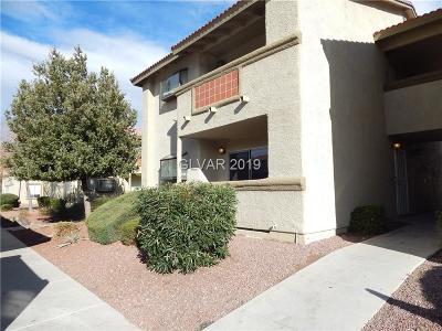 Las Vegas Condo/Townhouse For Sale: 7300 Pirates Cove Road #1052