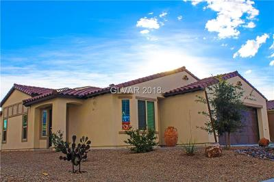 North Las Vegas Single Family Home For Sale: 3729 Garnet Heights Avenue