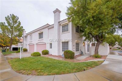 Henderson Condo/Townhouse For Sale: 462 Temple Canyon Place