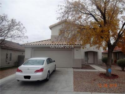 North Las Vegas Single Family Home For Sale: 5934 Rose Sage Street