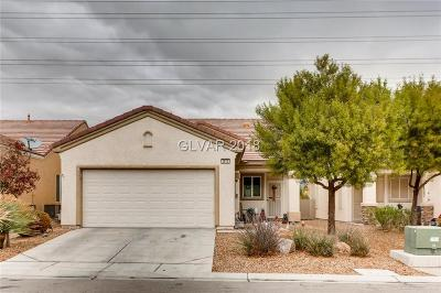 North Las Vegas Single Family Home Under Contract - Show: 2812 Ground Robin Drive