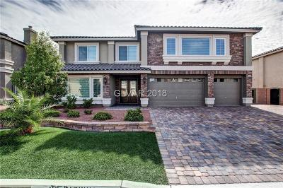 Las Vegas Single Family Home For Sale: 11004 Gaelic Hills Drive