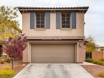 Henderson Single Family Home For Sale: 3680 Via Geneva