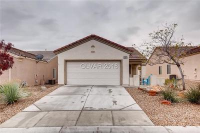 North Las Vegas Single Family Home Under Contract - Show: 2909 Willow Wren Drive