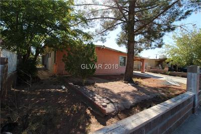 North Las Vegas Single Family Home Under Contract - No Show: 1700 Ingraham Street