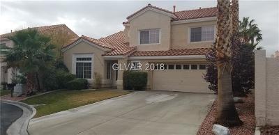 Las Vegas Single Family Home For Sale: 8705 Diamond Creek Court