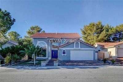 Las Vegas Single Family Home For Sale: 2905 Domino Way