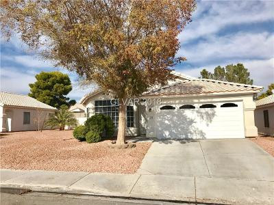 North Las Vegas Single Family Home For Sale: 1734 Watercreek Drive