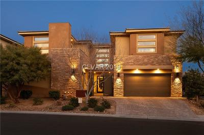 Henderson, Las Vegas, North Las Vegas Single Family Home For Sale: 76 Grey Feather Drive Drive