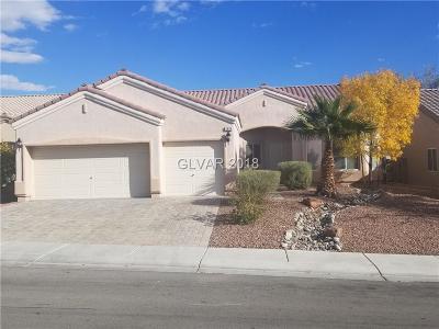 North Las Vegas Single Family Home For Sale: 5924 Aqua Verde Street