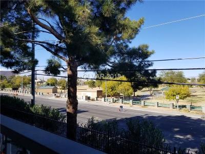 Las Vegas Condo/Townhouse For Sale: 3823 South Maryland #B8