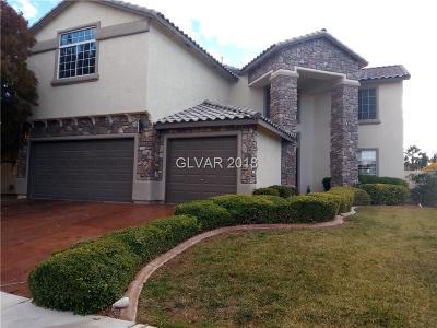 Las Vegas Single Family Home For Sale: 6205 Peggotty Avenue