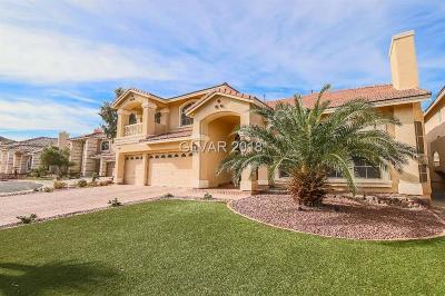 Las Vegas Single Family Home For Sale: 10989 Inverlochy Court