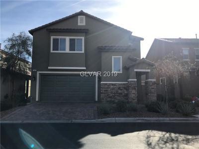 Las Vegas Single Family Home For Sale: 185 Elexese Court